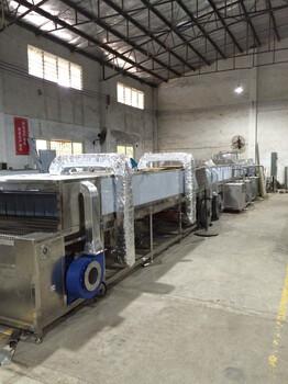 珠海铝锅内胆除油清洗机厂家直销自动通过式喷淋清洗烘干线