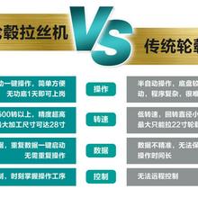 汽车轮毂拉丝机厂哪家好?上海谷柏特大品牌值得信赖