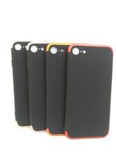 iphone7G手机保护套喷油PC三件套