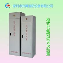 七氟丙烷多少钱一公斤深圳厂家供应优质柜式七氟丙烷灭火装置