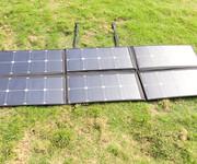 120W便携式太阳能板/太阳能大功率折叠板/太阳能移动电源/便携式太阳能折叠板图片