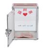 富祥K-B080铝合金募捐箱捐款箱捐钱箱爱心箱募捐盒慈善箱功德箱