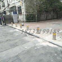 郑州不锈钢立柱阻车桩地桩立柱警示柱厂家品牌规格图片