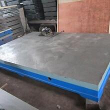 鑄鐵平板一級鑄鐵平臺檢驗平板量具滄州華威圖片