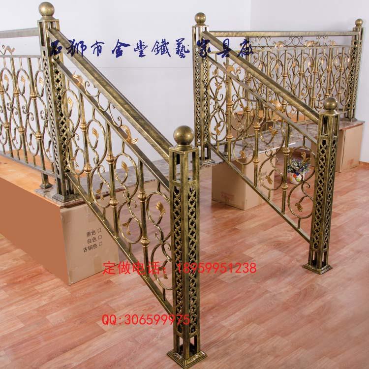 铁艺阳台欧式飘窗防盗门厅隔断屏风壁饰楼梯栏杆扶手
