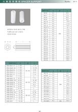 圆体间隔柱/直通/圆体隔离柱/圆体胶柱/管柱/塑胶柱/尼龙柱图片