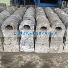 供应上海坤惠合金锤头锻打耐磨高锰钢锤头图片