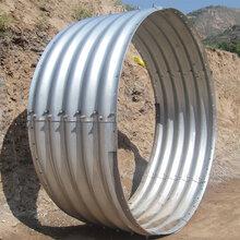 专业制造钢波纹管包施工拼装钢波纹管涵口径全图片