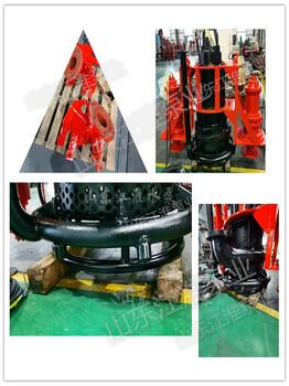 围堰工程泥浆泵机组抽取浓度大带搅拌头碎渣碎石省时省力