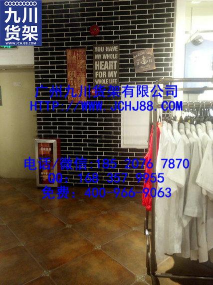 快时尚男装货架服装中岛展示架服装道具展示架铁艺展示架图片大全