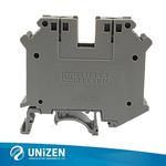 扁平接线端子导轨接线端子节省空间配电箱端子尤提乐JUT1-35B