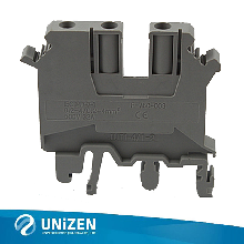 一进两出接线端子JUT1-4/1-2卡导轨端子螺钉类接线端子