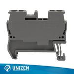 供应卡导轨端子JUT3-2.5弹簧类导轨接线端子工业配电端子