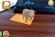 广安儿童早教玩具小熊菲迪采用ar技术的益智玩具3d卡片增强现实早教卡