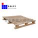 欧标木托盘黄岛场站实木松木叉车可用定做大小烟熏证明