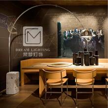 梵梦热卖钓鱼灯现代简约时尚个性客厅落地灯