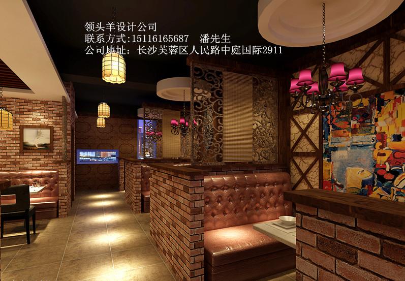 株洲餐饮店装修设计,餐馆装潢