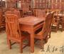 正宗缅甸花梨餐桌前景好品牌热销的红木餐厅家具