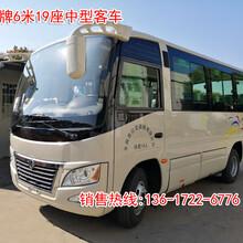 廠家直銷東風牌DFA6600K5A型6米19座中巴客車圖片