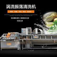 贛云牌渦流震蕩清洗機洗菜機中央廚房設備臭氧消毒洗菜機圖片
