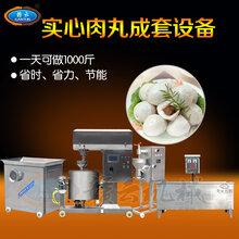时产1千斤的肉丸设备都有哪些机器肉丸生产机器赣云机械图片
