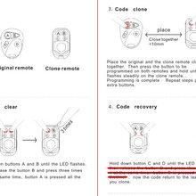 深圳厂家供应金属四键对拷遥控器315MHZ/433MHZ开锁关锁静音闪铃