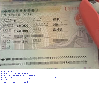 1year一年Chinese中国visa签证图片