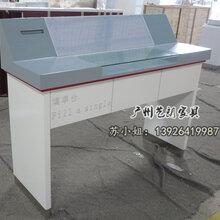 亚光烤漆银行填单台银行家具厂家