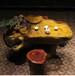弥勒佛楠木根雕茶桌天然整体构架物廉价美