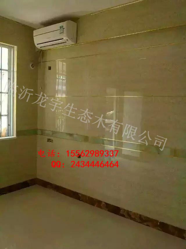 3D背时背景墙效果图仿大理石UV板护墙板高清图片