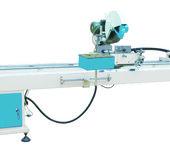 供应凯岳厂家直销塑料型材直线双头切割锯床