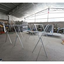 临沂衣架厂家直销折叠落地式X型晾衣架地摊货架折叠晾衣架批发