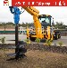 水泥灌注桩引孔机快速打孔机;挖机螺旋钻机