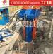 生产工字钢液压小型拔桩机拔桩机械_东奕