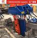 新款液压拔桩机H型钢专业拔桩机-拔桩机械