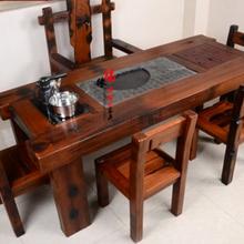 老船木家具茶桌茶台椅子长凳沙发