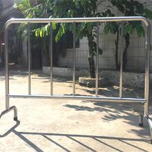 高端不锈钢铁马防护栏丝印图案加套带加板小区广场出粗