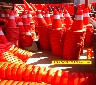 反光路錐雪糕筒交通路錐湛江茂名肇慶云浮梅州汕頭河源韶關塑料橡膠路錐圖片