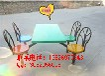 大量生产四人位玻璃钢孔雀餐桌容易保养质量杠杠的