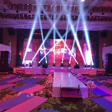 惠州活动策划年会布置、舞台搭建、灯光音响LED显示屏出租