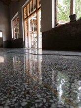 塘廈舊水磨石地面翻新--太陽城--林村車間水磨石鏡面拋光圖片