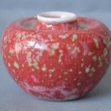 豇豆红釉苹果尊什么价格怎么交易出手