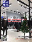 关注时尚品质于一体的KM男装货架最新服装展示柜