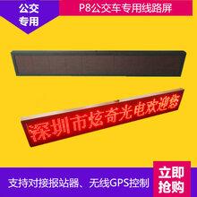 公交车后窗专用LED广告屏大巴车GPRS无线发布广告屏图片