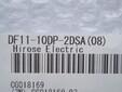 正品进口DF11-10DP-2DSA(08)广濑HRS针座DG11系列好针座乔氏