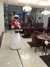 诺比智能送餐传菜机器人智能语音对话迎宾机器人外壳功能定制