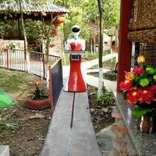 智能服务语音对话机器人/送菜传菜端菜送餐餐厅服务员餐饮机器人生产厂家