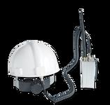 单兵4G头盔,无线移动传输设备,cofdm移动单兵无线监控,移动视频数字图传图片