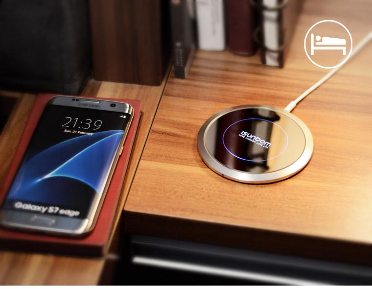 手机无线充电三星无线充无线充电器手机无线充无线充礼品充电宝定制图片
