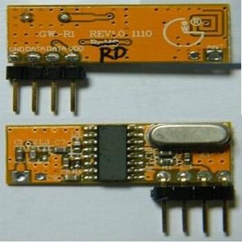 供應低電壓ASK超外差無線接收芯片
